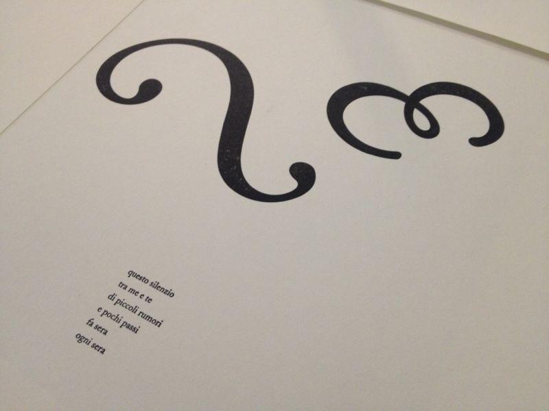 2.Stampa Letterpress caratteri mobili_ Dopo le parole 1